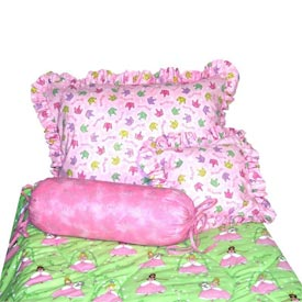 Glitter Princess Toddler Bedding Set