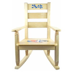 Personalized Sports Rocking Chair