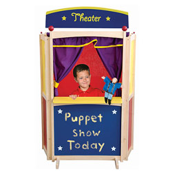 Center Stage Floor Puppet Theater