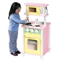Pastel/Natural Kitchenette