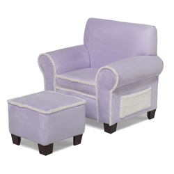 Child's Club Chair and Ottoman