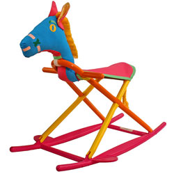 Personalized Folding Kids Rocking Horse