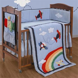 High In The Sky Crib Bedding Set