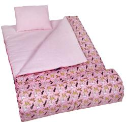 Horses in Pink Sleep Sleeping Bag