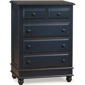Monterey Five Drawer Chest