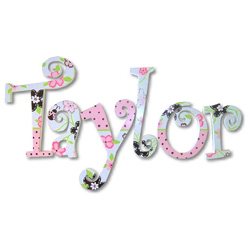 Taylor's Lady Bugs Wall Letters