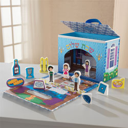 Judaica Travel Play Set