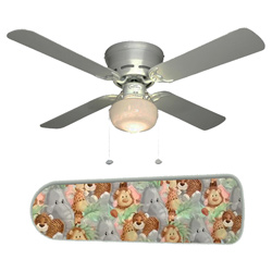 Jungle Babies Ceiling Fan