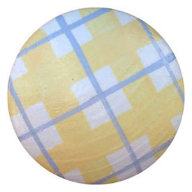 Plaid Knob (Pack of 6)