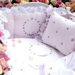 Baby Rosebuds Crib Set