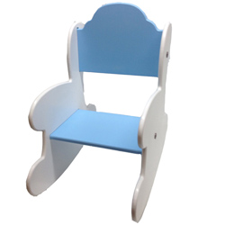 Kids Light Blue Rocker