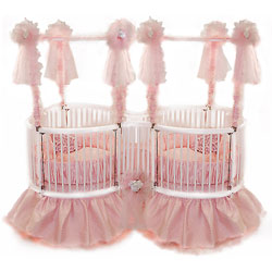 Twin Heart Crib