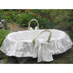 Summertime Moses Baby Basket