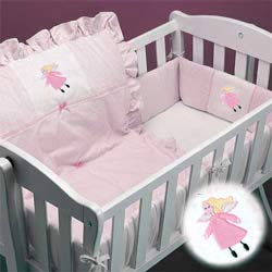 Little Fairy Cradle Bedding