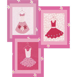 Little Pink Dress Wall Art