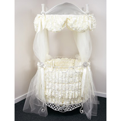 Bella Rose Round Crib Bedding Set