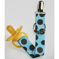 Dots Pacifier Clips