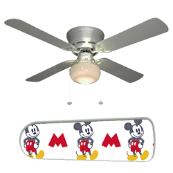Mickey Mouse Ceiling Fan