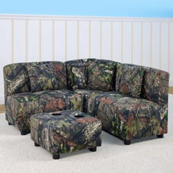 Mossy Oak Sectional Seating Set