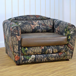 Mossy Oak Tween Sleeper Chair