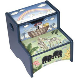 Noah's Ark Step-Up Stool