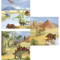 Dino Series Wall Art
