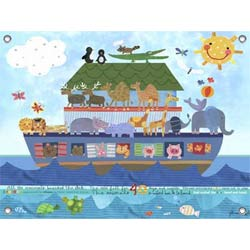 Noah's Ark Canvas Art