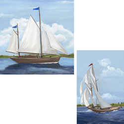 Sailing Stretched Art