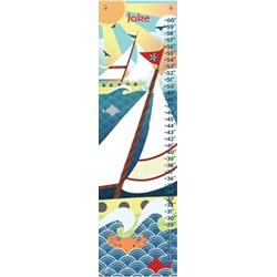 Personalized Jake Vintage Voyage Growth Chart