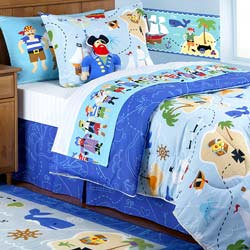 Pirates Twin Bedding