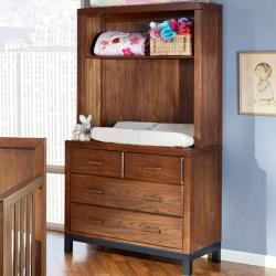 Park West Bookcase/Hutch with Dresser