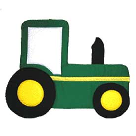 Personalized Tractor Wall Hanging