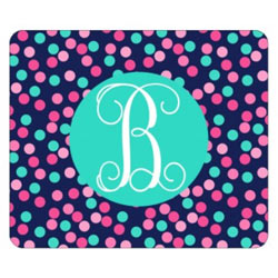 Personalized Dots Mouse Pad