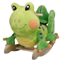 Personalized Fergie Frog Rocker