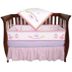 Personalized Miss Princess Crib Bedding