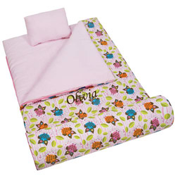 Personalized Owls Sleeping Bag