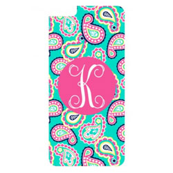 Personalized Paisley iPhone Case