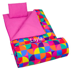 Personalized Pinwheel Sleeping Bag