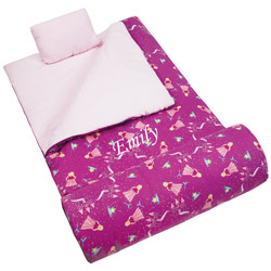 Personalized Princess Sleeping Bag