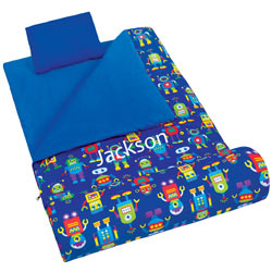 Personalized Robots Sleeping Bag