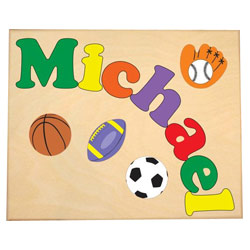 Personalized Sports Name Puzzle