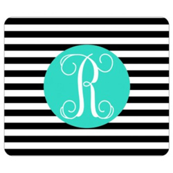 Personalized Stripe Mouse Pad