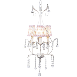Petal Flower 3 Arm Pear Chandelier