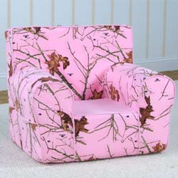 Pink Mossy Oak Grab-N-Go Kids Chair