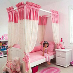 Dream Princess  Canopy Bed