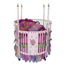 Majestic Princess Round Crib
