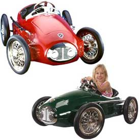 kids race pedal car