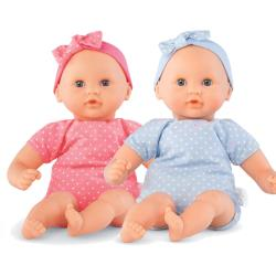 Let's Play Pink and Blue Twin Baby Dolls