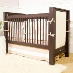 Ricki Upholstered Panel Crib