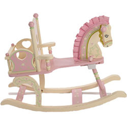 Kiddie Ups Rock-A-My-Baby Rocking Horse